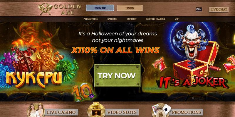 golden axe casino not blocked by gamstop