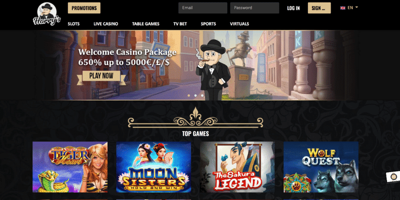 Harry's Casino not on Gamstop